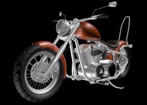 motorbike 3d obj