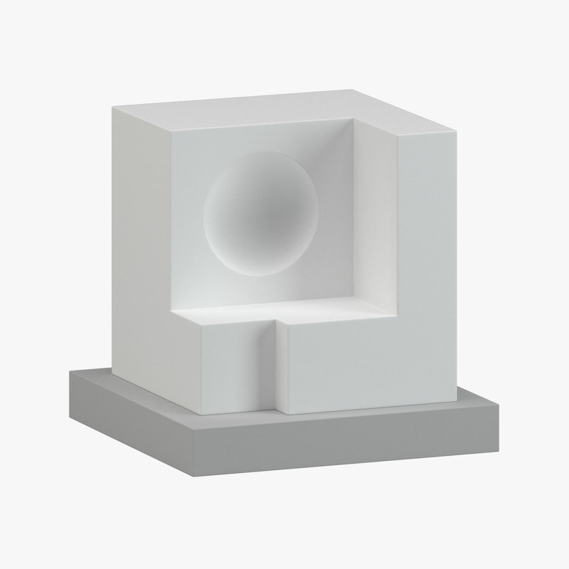 sculpture 21 3d model