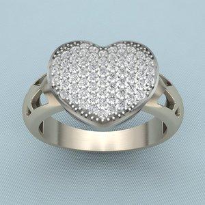 3d cnc ring model