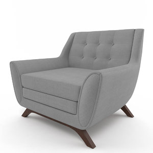 3d model aubrey chair joybird