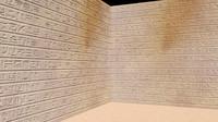 hieroglyphs wall c4d