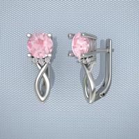earrings print gem 3dm