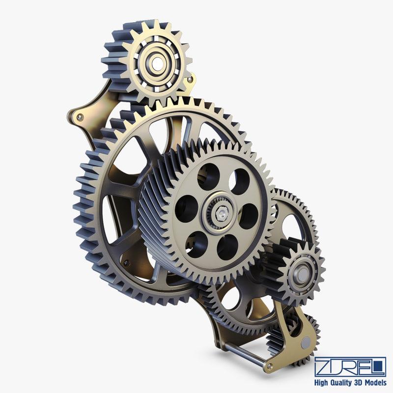 gear mechanism v 3 max