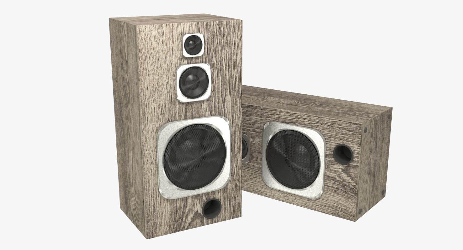 x realistic speakers