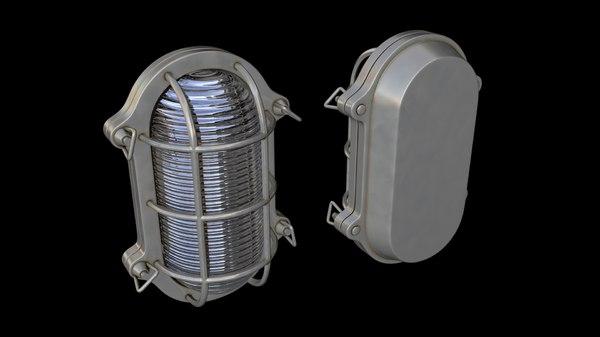 3d marine bulkhead light