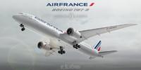 3d boeing 787-9 air france model
