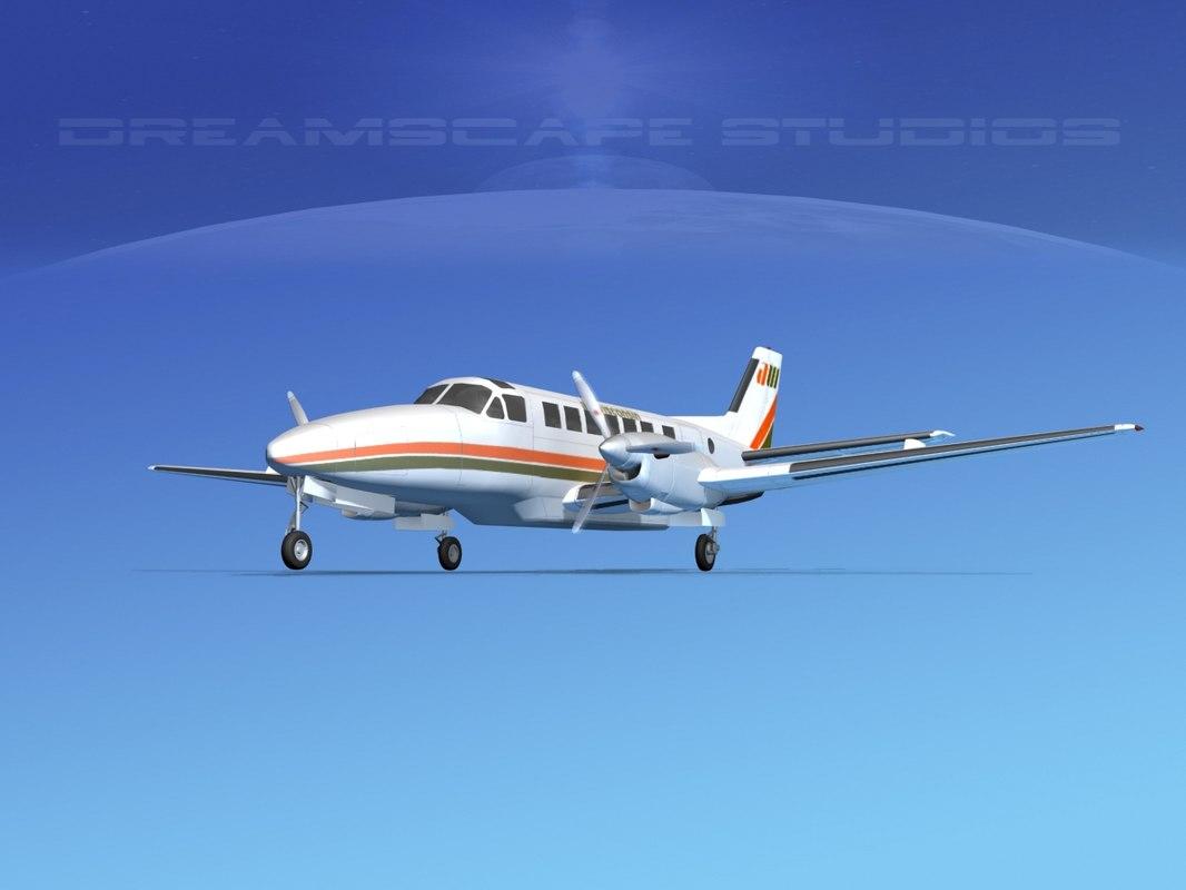 beechcraft air 3d max