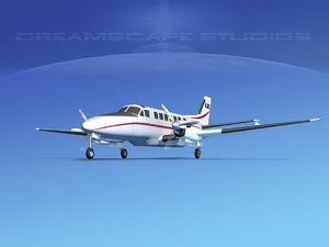 3d beechcraft air