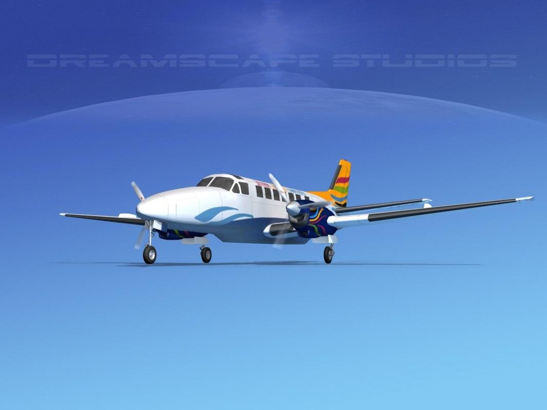 3ds beechcraft airliner turboprop
