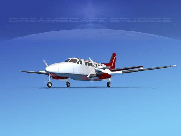 lwo beechcraft airliner turboprop