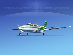 3d obj beechcraft air