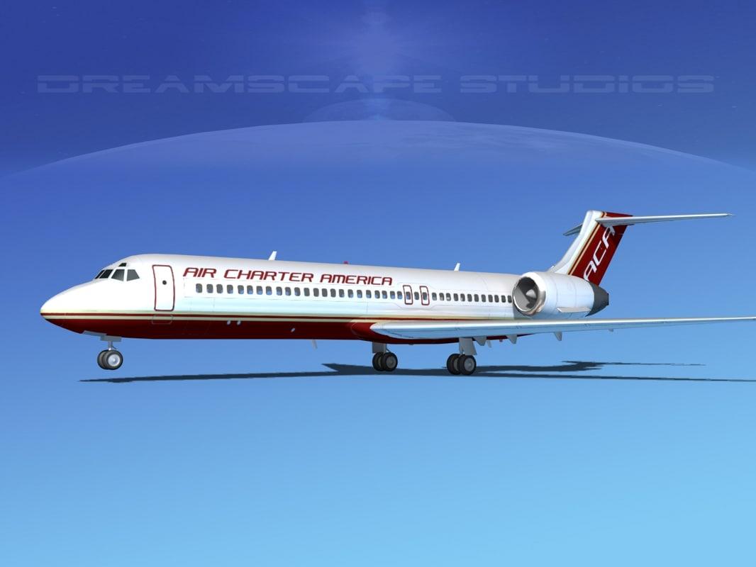 turbines boeing 717-200 717s obj