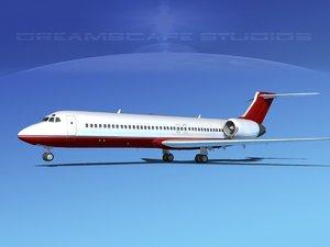 3d turbines boeing 717-200 717s