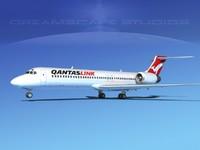 Boeing 717-200 Qantas Link