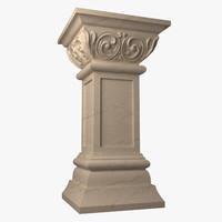 marble column max