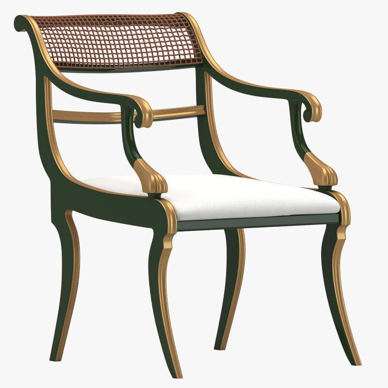 3d model chair 63