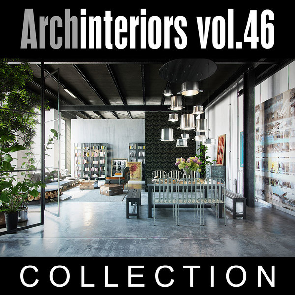 3d model archinteriors vol 46 interior scenes