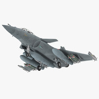 Dassault Rafale Rigged