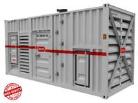 generator diesel power 3d max