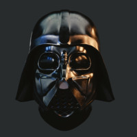 realistic darth vader 3d model