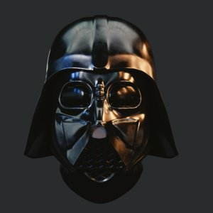 realistic darth vader helmet 3d 3ds