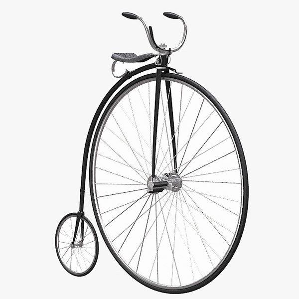 wheel bicycle 3ds