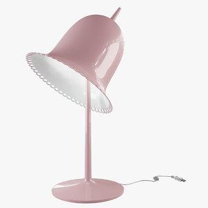 3d model lolita table lamp
