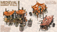 Medieval Market Stall v2