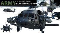 army UH 60 black hawk helicopter