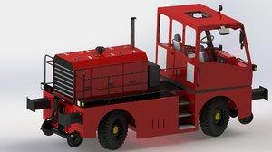 3d model rail yard