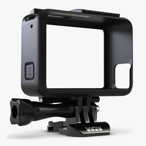 3d gopro hero 5 frame model