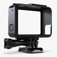 3d gopro hero 5 frame model