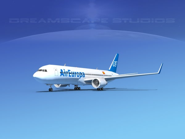 3ds airlines boeing 767 767-300