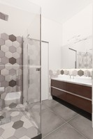 Lovely bathroom with RAGANO tiles