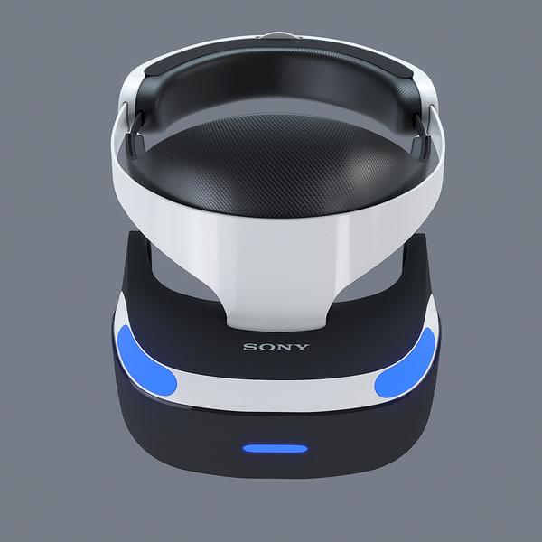 3d model playstation vr