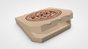 c4d pizza box