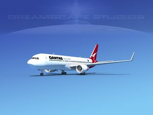 3d airlines boeing 767 767-300