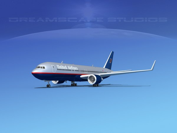 3d airlines boeing 767 767-300 model
