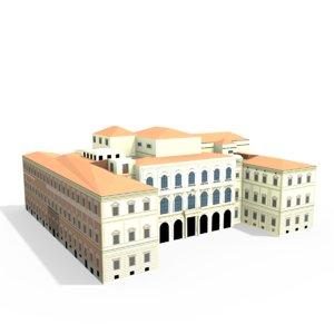 palazzo barberini 3d 3ds