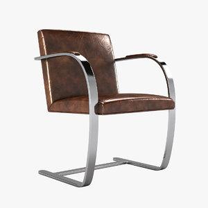 knoll brno chair 3d max