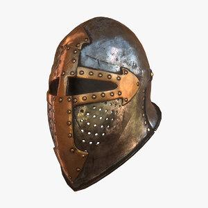 max medieval helmet