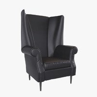 Luxury Leather Armchair
