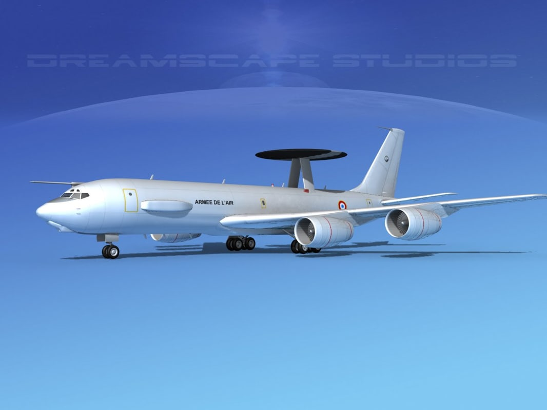 3d boeing e-3 sentry air force