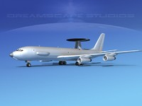Boeing E-3C Sentry Bare Metal