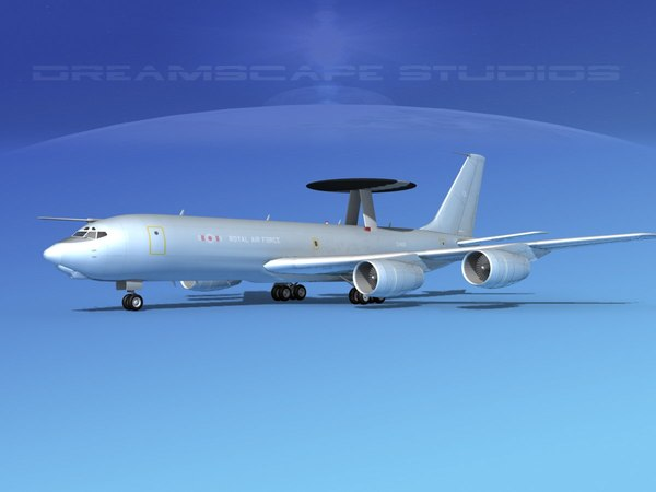 boeing e-3 sentry 3ds