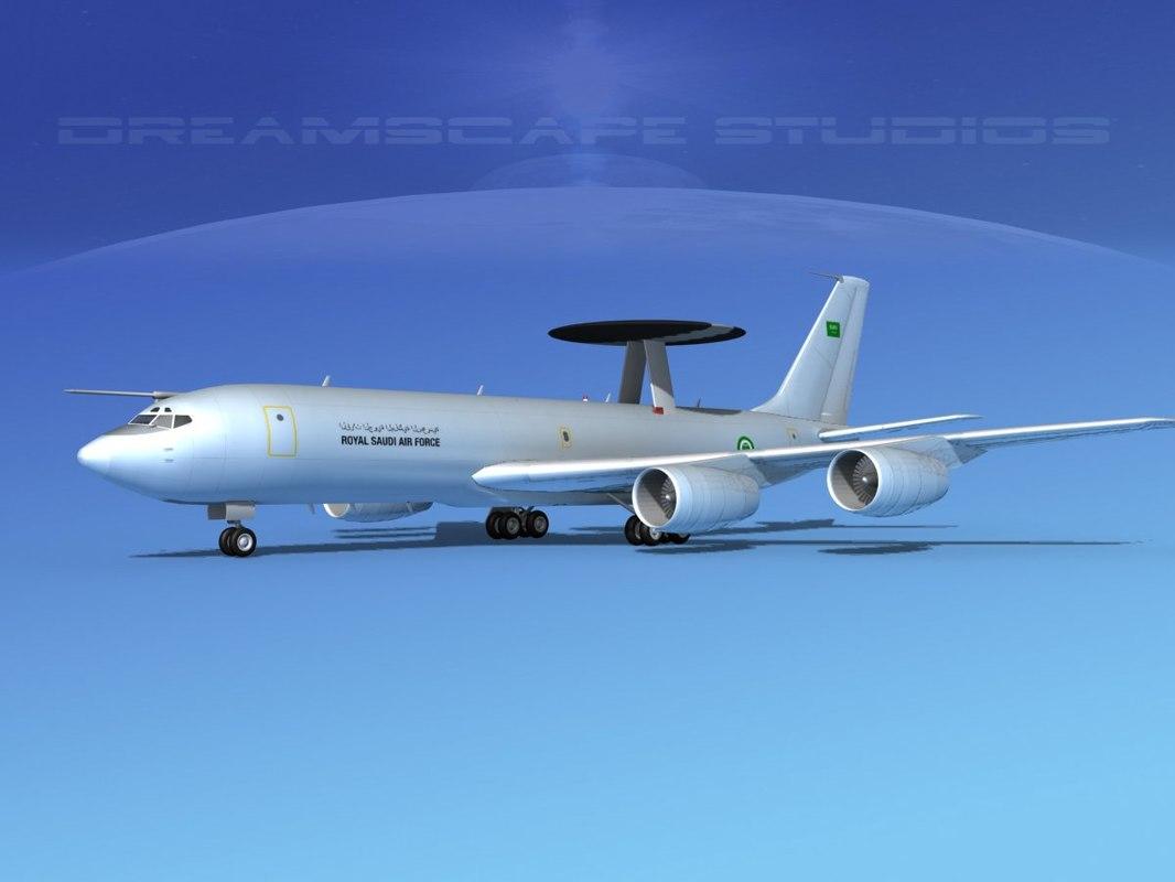 3ds boeing e-3 sentry saudi