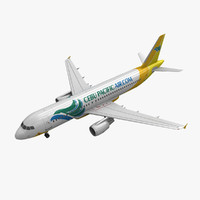 airbus a320 cebu pacific 3d 3ds