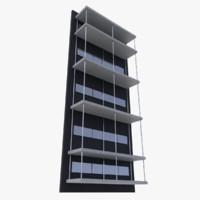 3d model shelf shelves blender