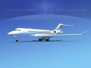 turbines bombardier global express 3ds