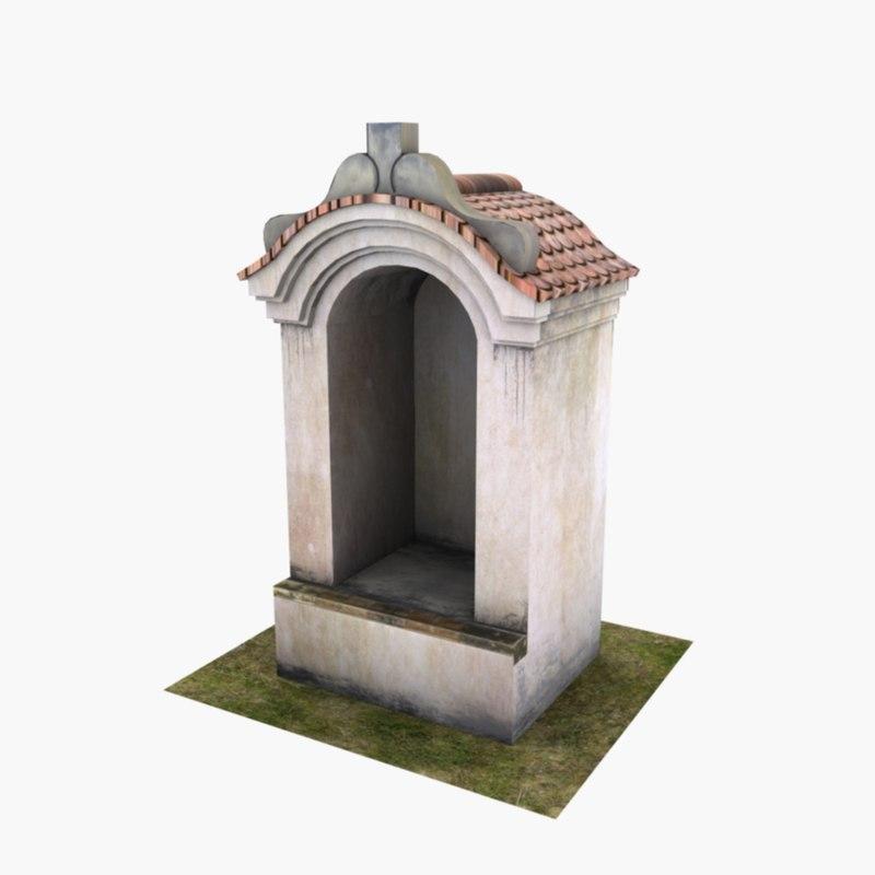 max roadside shrine
